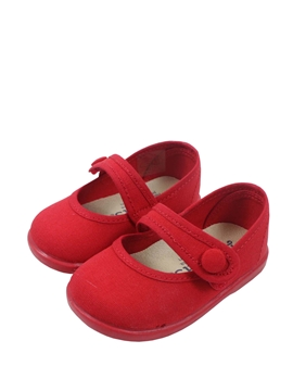 Canvas girl red