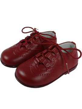 Wales shoes in cherry