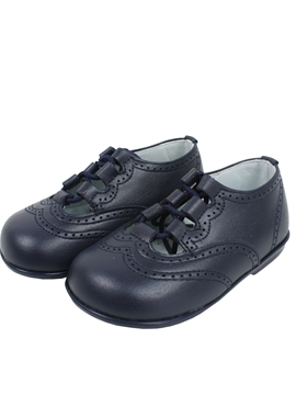 Wales shoes in navy blue