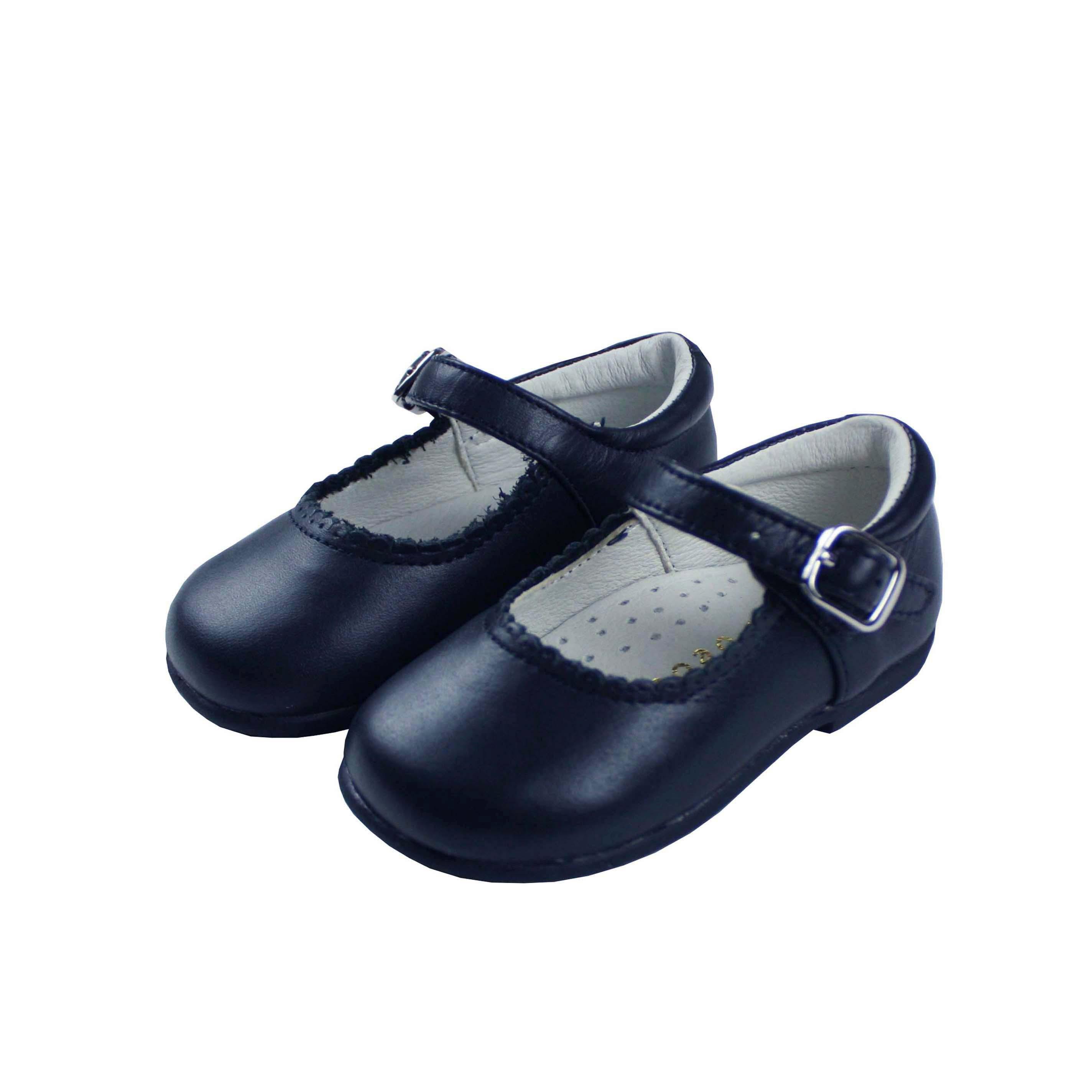 revisa 5320b 943c2 Zapato piel mercedita azul marino